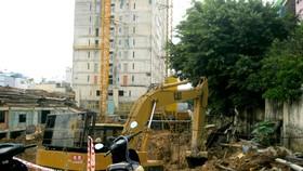 Dự án Chung cư Tân Bình Apartment đang bị thanh tra toàn diện do xây dựng sai phép.