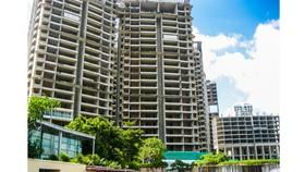 Dự án Kenton (Nhà Bè) trong giai đoạn hoàn thiện nhưng tồn kho hàng trăm căn hộ từ nhiều năm qua.