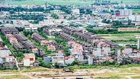 Một góc khu dự án tại Hà Nội. Ảnh: VIẾT CHUNG