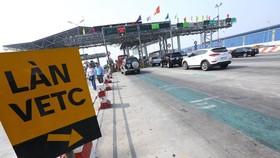Thu phí không dừng tại trạm trên cao tốc Hà Nội - Bắc Giang