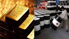 Vàng và dầu thô trở thành tài sản trú ẩn an toàn của giới đầu tư thế giới.