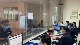 Hiện nay tại các đơn vị hải quan tỉnh, thành phố đều triển khai các biệp pháp phòng, chống dịch nCoV.
