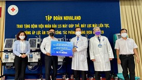 Tập đoàn Novaland trao tặng thiết bị Y tế trị giá 10 tỷ đồng đến Bệnh viện Nhân dân 115