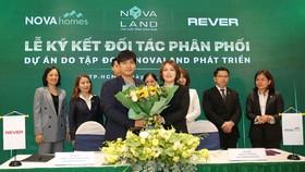 Nhiều đơn vị phân phối cùng tham gia giới thiệu các sản phẩm BĐS Novaland.