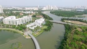 Khu đô thị Phú Mỹ Hưng, quận 7. (Ảnh: Quang Nhựt/TTXVN)