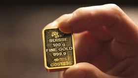 Vàng miếng được bán tại Dublin, Ireland. (Ảnh: AFP/TTXVN)