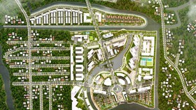 Quy hoạch tổng thể dự kiến khu đô thị Mizuki Park – 26ha.