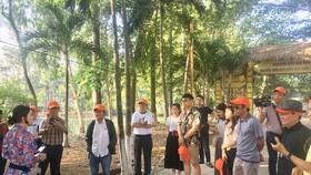 Đầu tháng 7-2020, đoàn du khách TPHCM tham quan Tổ đình Tôn Thạnh (Cần Giuộc, Long An)