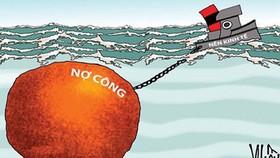 Áp lực trả nợ đang ngày càng lớn (Ảnh minh họa: KT)