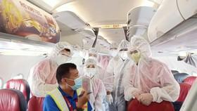 Vietjet bay 4 chuyến hỗ trợ hành khách tại Đà Nẵng về Hà Nội, TPHCM