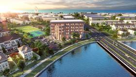 """River Park 1 đô thị Aqua City: Giải """"cơn khát"""" nhà phố sinh thái diện tích vừa phải"""
