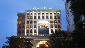Trung tâm hội nghị tiệc cưới Crystal Palace đang được BIDV đấu giá - Ảnh: Crystal Palace