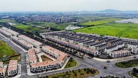 Khu nhà ở thương mại trong Khu công nghiệp và Đô thị VSIP Bắc Ninh đã hoàn thành. (Ảnh: Danh Lam/TTXVN)