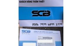 Cảnh báo mạo danh nhân viên ngân hàng lừa đảo mở thẻ tín dụng giả