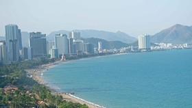 Một góc thành phố biển Nha Trang (tỉnh Khánh Hòa). (Ảnh: Nguyễn Dũng/TTXVN)