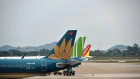 Các hãng hàng không đã có sự chuẩn bị kỹ càng cho việc mở lại đường bay quốc tế sau thời gian dài bị tạm dừng do ảnh hưởng của dịch COVID-19. (Ảnh: CTV/Vietnam+)