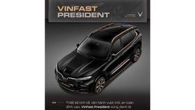 Nâng tầm đẳng cấp với VinFast President