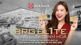 SeABank và Tập đoàn BRG ra mắt thẻ BRG Elite đặc quyền ưu đãi 25%