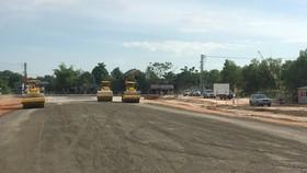 Dự án cao tốc Bắc - Nam đoạn qua tỉnh Quảng Trị đang được triển khai.