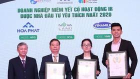 Vinh danh top 3 doanh nghiệp có hoạt động IR tốt nhất 2020