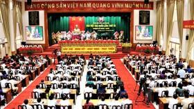 Quang cảnh đại hội Đảng bộ tỉnh An Giang