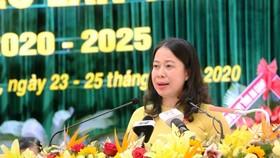 Bà Võ Thị Ánh Xuân, Bí thư Tỉnh ủy An Giang, nhiệm kỳ 2020- 2025
