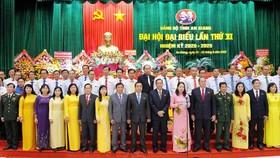 Ban chấp hành Đảng bộ tỉnh An Giang nhiệm kỳ 2020-2025.