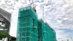 Dự án Spirit of Saigon đang thi công tới tầng thứ 8