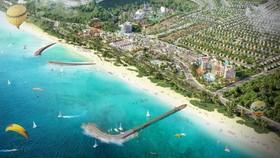 Phối cảnh công viên biển tại NovaWorld Phan Thiet (Phan Thiết, Bình Thuận)