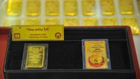 Giá vàng trong nước và thế giới đồng loạt giảm