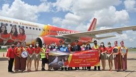 Vietjet khai trương đường bay Băng Cốc – Ubon Ratchathani