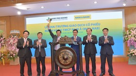 Nam A Bank giao dịch 389 triệu cổ phiếu trên UPCoM