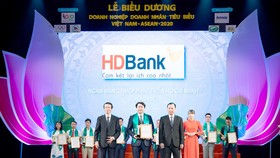 HDBank - Doanh nghiệp tiêu biểu Việt Nam-ASEAN 2020