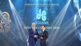 HBC nhận giải doanh nghiệp xuất sắc châu Á