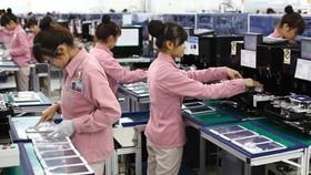 Công nhân tại nhà máy Samsung Việt Nam