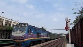 Ngành đường sắt sẽ tăng cường chuyến trong dịp Tết Dương lịch 2021. (Ảnh: Việt Hùng/Vietnam+)