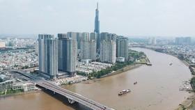 Cao ốc bên sông Sài Gòn tại quận Bình Thạnh. Ảnh: CAO THĂNG