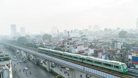 Chạy thử toàn hệ thống đường sắt Cát Linh - Hà Đông