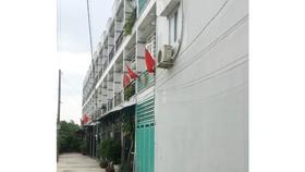Nhà số 171/11, phường Thạnh Xuân, quận 12 được chia nhỏ thành nhiều căn từ một giấy phép xây dựng nhà ở riêng lẻ