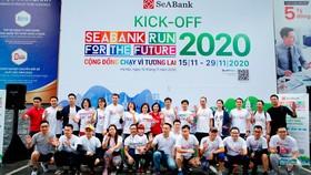 """125.000 vận động viên tham gia giải chạy """" SeABank Run For The Future 2020"""""""