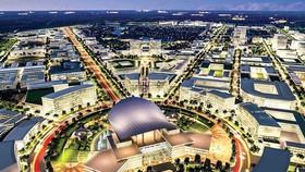 Mô phỏng ý tưởng quy hoạch Khu đô thị sáng tạo tương tác phía Đông TPHCM