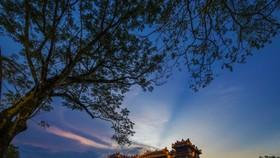 Hình ảnh quảng bá Đại Nội Huế trên Cổng Thông tin du lịch tỉnh Thừa Thiên-Huế.