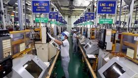 Doanh nghiệp Nhật Bản đầu tư sản xuất vào Khu chế xuất Tân Thuận, TP Hồ Chí Minh. (Ảnh: Danh Lam/TTXVN)