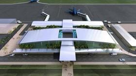 Phối cảnh Cảng hàng không Sa Pa. (Nguồn: baotainguyenmoitruong.vn)
