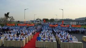 """Hơn 2.000 người đã tham dự """"Đi bộ đồng hành - vì người nghèo"""" tại Van Phuc City"""