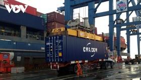 Việc tăng giá cước vận tải container đang gây khó khăn cho các DN xuất khẩu.