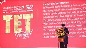 Thứ trưởng Tạ Quang Đông phát biểu