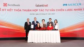 SeABank ký kết hợp tác với 4 đối tác chiến lược
