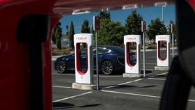 Tesla is the latest consumer-facing company to venture into cryptocurrency markets, following PayPal © David Paul Morris/Bloomberg