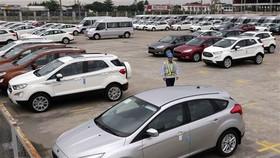 Các loại xe xuất xưởng tại nhà máy Ford Hải Dương. (Ảnh minh họa: Trần Việt/TTXVN)